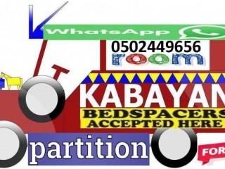Bedspace/Partition in al Majaz / Buhaira Corniche for Filipino