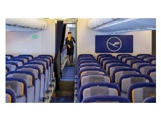 How do I get through Lufthansa?