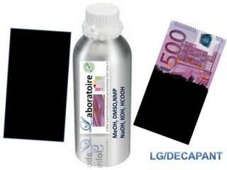 Nettoyage de billet de banque noir