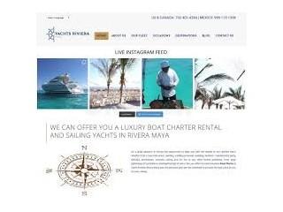 Rivera Maya Boat Charter