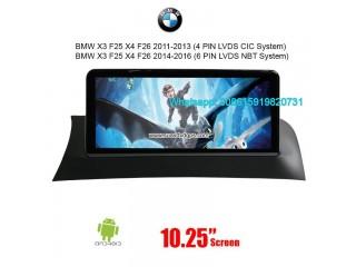 BMW X3 F25 X4 F26 CIC NBT System Android Autoradio Navigation