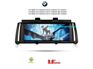 Car Multimedia Player for BMW X3 F25 X4 F26 CIC NBT Autoradio Navigation