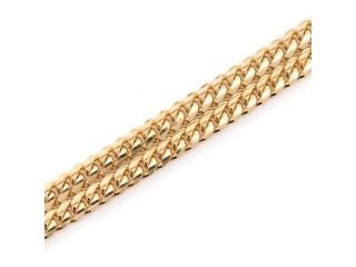 4mm Miami Cuban 14K Chain