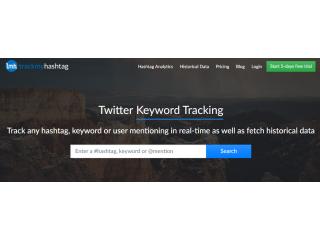 How do you analyze hashtag analytics?