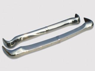 Opel Rekord P1 stainless steel bumpers