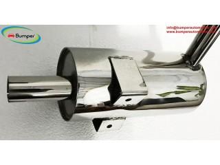 Stainless steel exhaust for Heinkel Kabine and Trojan year 1955-1966