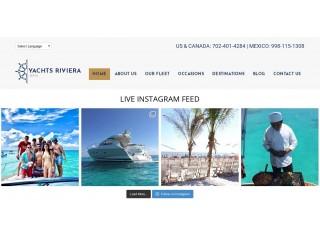Rivera Maya Proposal Yacht Charter
