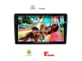 Toyota ProAce Car radio Video android GPS navigation camera
