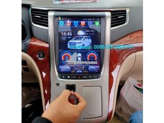 TOYOTA Alphard vertical Tesla Android radio GPS navigation