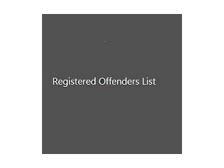 Registered Offenders List