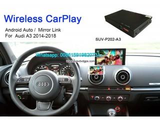 Audi A3 Wireless Apple CarPlay Box Original Screen Update