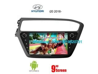 Hyundai i20 2018 Car audio radio update android GPS navigation camera