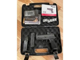 Sig Sauer X Compact RXP 9mm Romeo 1 Pro Sig P320 X-Compact 320XC9BXR3RXP