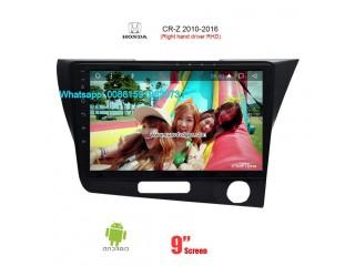 Right hand drive Car Radio Multimedia Video for Honda CR-Z