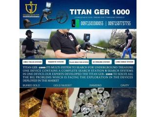 GER DETECT TITAN GER 1000 Geolocator Gold Detector